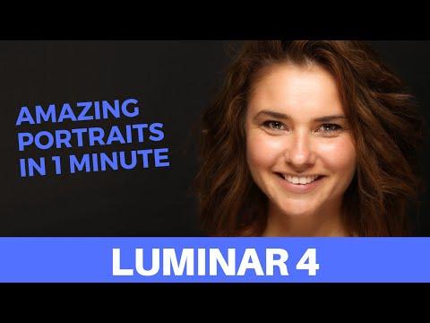 How to make beautiful portraits - Luminar 4