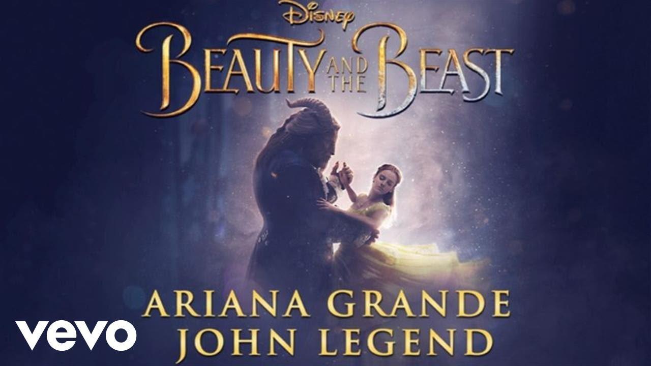 """Преслушјате ја песната на Аријана Гранде и Џон Леџенд за """"Убавицата и ѕверот"""""""