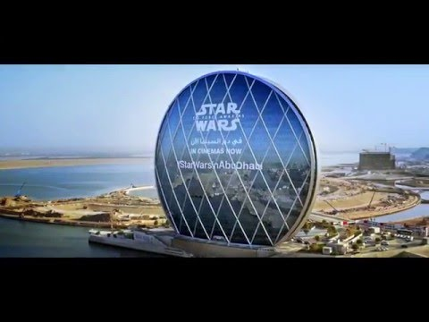 The Force is Strong in Abu Dhabi: Giant Starkiller base installation