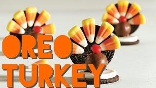 Easiest Oreo/candy Turkey Craft