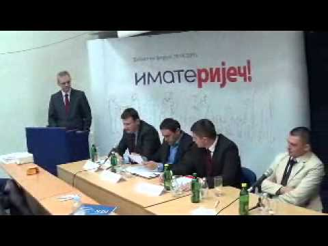 """Javni forum """"Imate Riječ!"""", Pale, Tema: Zapošljavanje mladih"""