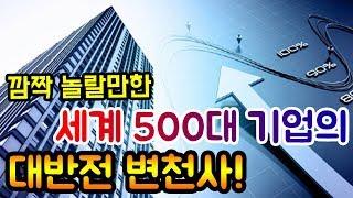 세계 500대 기업의 깜짝 놀랄만한 대반전 변천사! (코스피, 나흘 연속 장중 최고치 기록!)