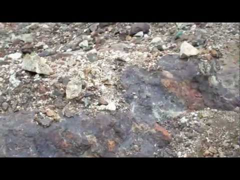 Veta de Mineral de Hierro