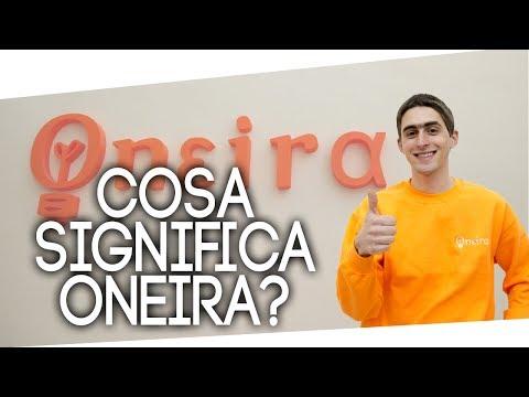 Cosa significa Oneira?
