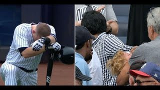 Ballplayers Weep And Stop Game After Little Girl Is Hit By 105 MPH Foul Ball