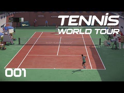 Tennis World Tour [PS4] #001 - Auf dem Weg zum Grand Slam - Let's Play