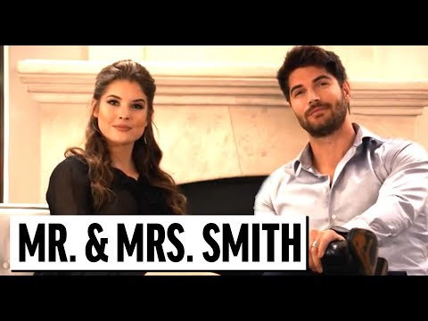 Thumbnail: Mr. And Mrs. Smith PARODY | NICK BATEMAN, AMANDA CERNY