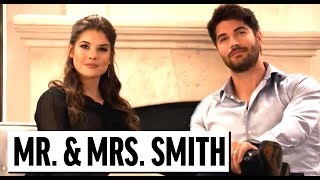 Mr. And Mrs. Smith Parody ft. David Spade, Nick Bateman, Amanda Cerny | Funny Sketch Comedy Videos