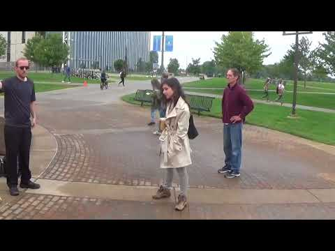 """""""Gospel And Pro-Life Outreach At Grand Valley State University"""" (August-2017)"""