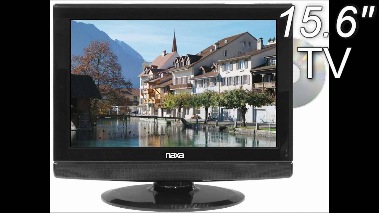 15 inch naxa ac dc 12 volt widescreen 1080i hd lcd tv with dvd player digital tuner youtube. Black Bedroom Furniture Sets. Home Design Ideas