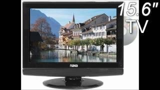 15 Inch Naxa AC/DC 12 Volt Widescreen 1080i HD LCD TV with DVD Player & Digital Tuner