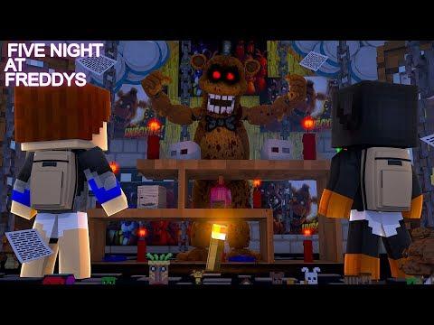 Minecraft FIVE NIGHTS AT FREDDYS HOTEL  NIGHT #1