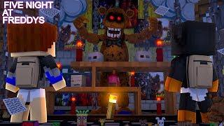 Minecraft FIVE NIGHTS AT FREDDY'S HOTEL - NIGHT #1