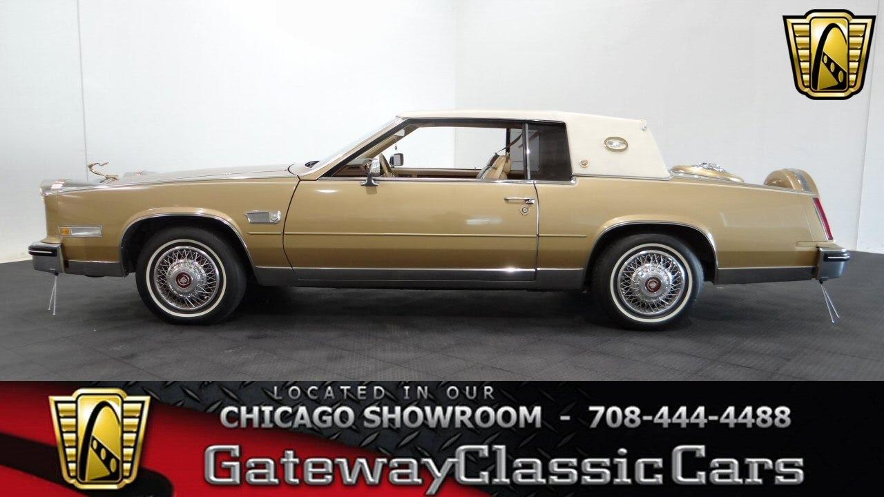 1985 Cadillac Eldorado Gateway Classic Cars Chicago #1119   YouTube