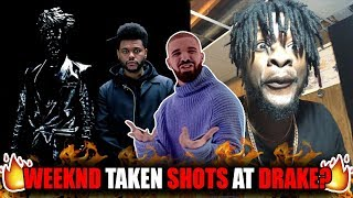 The Weeknd Dissing Drake!? | The Weeknd - Lost In The Fire (ft. Gesaffelstein) REACTION!