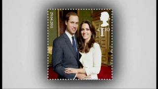 Royal wedding stamps unveiled