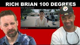 Rich Brian REACTION 100 Degrees