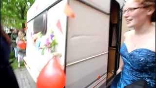 Galla på gymnasiet i Tønder 2012 - en hel campingvogn fyldt med gode galla-sild