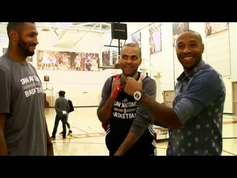 Guarding Kobe Bryant: Tony Parker and Boris Diaw talk about Guarding Kobe