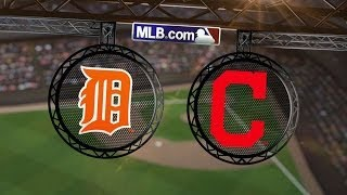 5/20/14: Indians notch five doubles to defeat Tigers