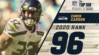 #96: Chris Carson (RB, Seahawks) | Top 100 NFL Players of 2020