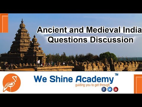 Sub inspector (SI) Ancient and Medieval India Questions | We Shine Academy