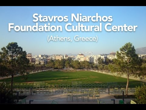 We discovered Stavros Niarchos Foundation Cultural Center in Athens, Greece