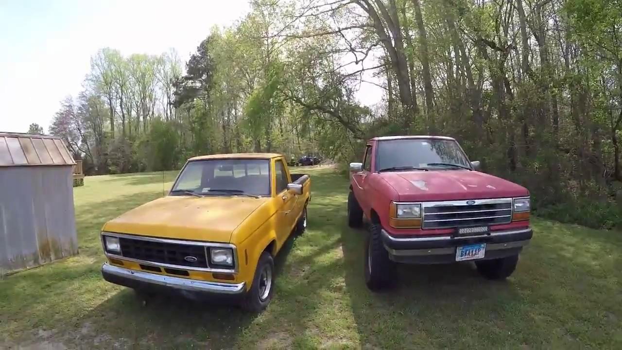 1990 ford ranger 4x4