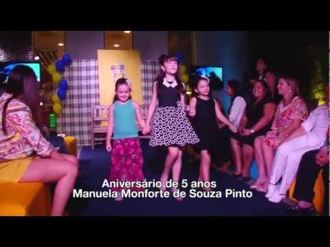 Aniversário Manuela Monforte de Souza Pinto - Parte 2   Programa JB