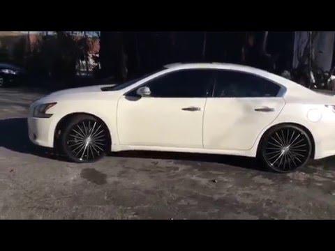 2015 Nissan Maxima >> 2012 Nissan Maxima with 22'' Kronik wheels @ Rimtyme ...