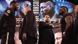 Chaos at Anthony Joshua vs Jarrell Miller New York press conference