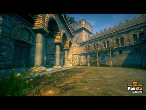 """""""Tsarevets"""" fortress interactive visualization Indiegogo promo"""