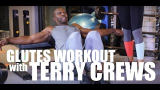 FITNESS FRIDAY with TERRY CREWS - Glutes Workout!