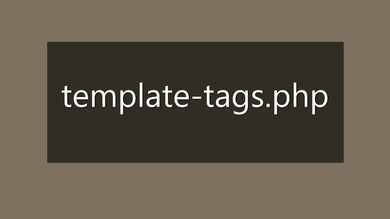 Download 10   template tags php