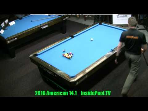 Finals 2016 American 14.1 Tournament Niels Feijen VS Mika Immonen Race to 150