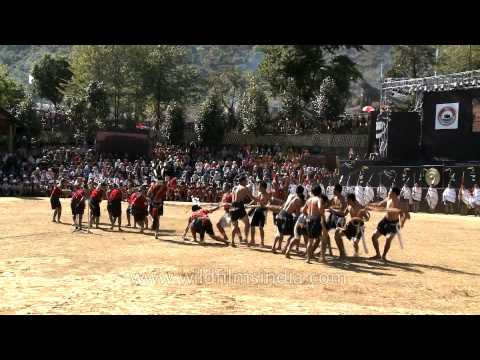 Ao Naga tribe plays tug of war: Nagaland
