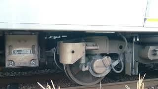 【響く!三菱IGBT】JR西日本227系『Red wing』三滝到着〜発車