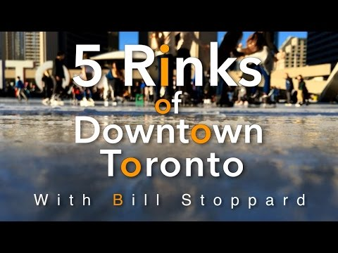 Outdoor Ice Rinks Of Toronto  -5 Faves By Bill Stoppard