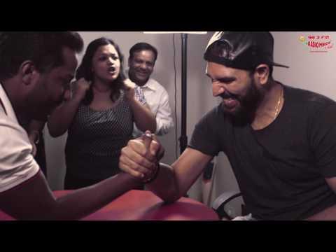 Yuvraj Singh vs RJ Suren | Celebrity Arm wrestling Match [Must Watch]