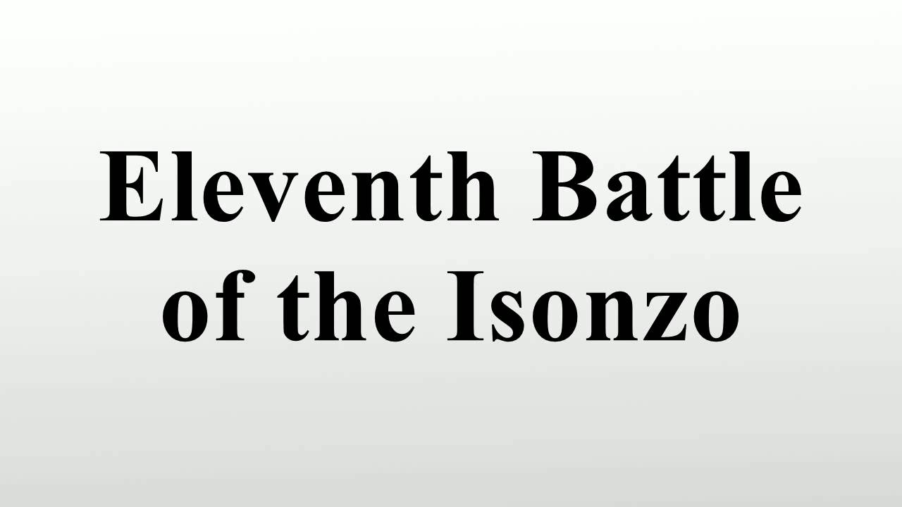 Eleventh battle of the isonzo youtube eleventh battle of the isonzo sciox Gallery