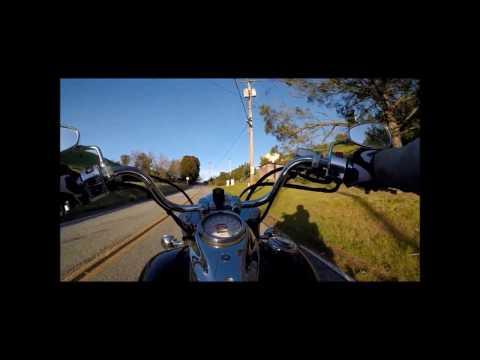 Calaveras Hills on Motorcycle
