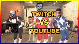 Wtcnn - Ferit Twitch Vs Youtube İzliyor!