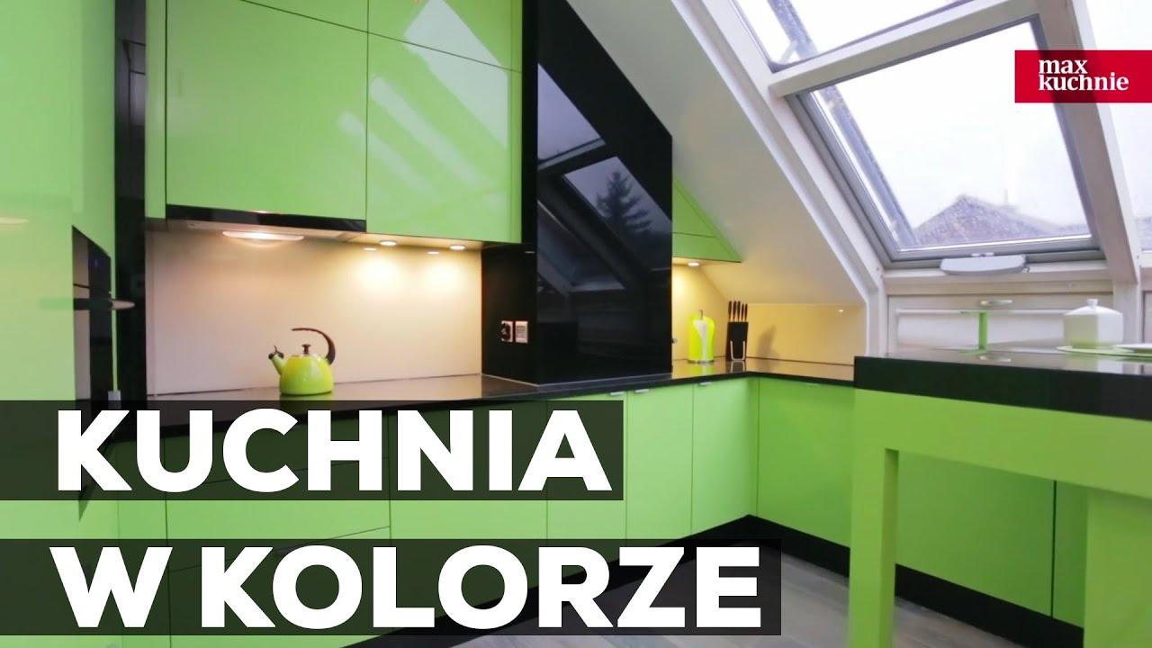 Kuchnia W Kolorze Studio Max Kuchnie Adad Jasło