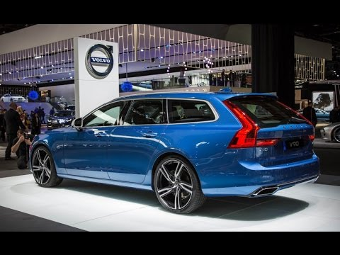 Volvo News Luscious Longroof 2018 V90 Wagon Looks Hot In R Design Form Your Best Automotive