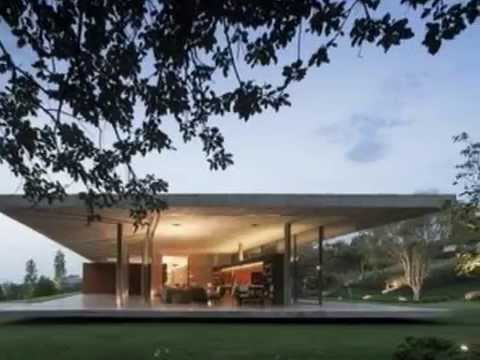 the great architecture modern house design is sandwiched between two concrete slabs youtube - Slab Home Designs