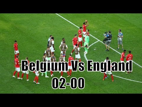 Belgium v England - 2018 FIFA World Cup Russia highlights - Play-off for third place-