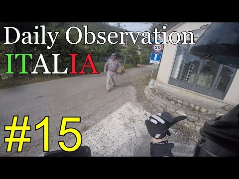 Daily Observations ITALIA #15 - Kawasaki ER-6n - Escort, laghi e papà competitivi