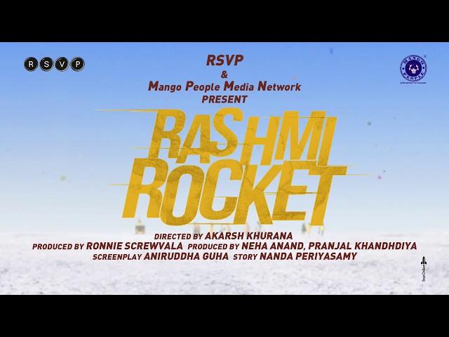 Rashmi Rocket  | Motion Poster | Taapsee Pannu | Akarsh Khurana
