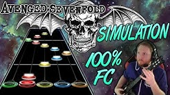 Avenged Sevenfold - Simulation 100% FC (Guitar Hero Custom -- The Stage)