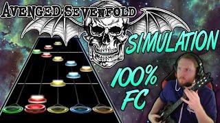 Avenged Sevenfold - Simulation 100% FC (Guitar Hero Custom -- The Stage)